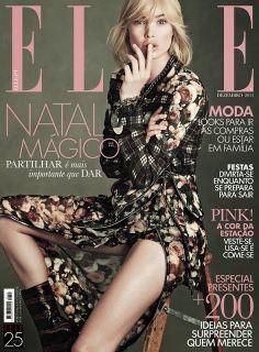 Doutzen Kroes for Elle Portugal - December 2013