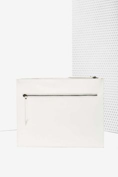 Nasty Gal x Nila Anthony White Knucklin' It  Vegan Leather Clutch - Bags + Backpacks | Accessories | 40% Off Accessories