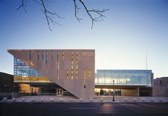 Education For Architecture Legat Architects City Hall Architecture, Factory Architecture, Office Building Architecture, Building Exterior, Building Facade, Concept Architecture, Building Design, Architecture Design, Facade Design
