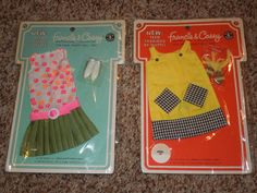 Vintage Francie & Casey BARBIE Clothes Clothing in Package