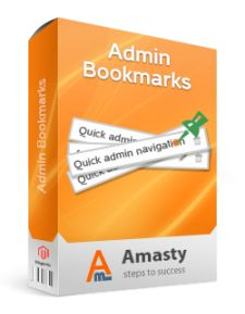 Admin Bookmarks