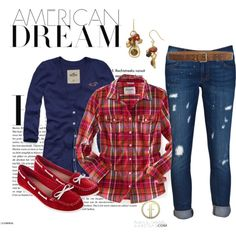 """Americana"" by tigerwoman37086 on Polyvore"