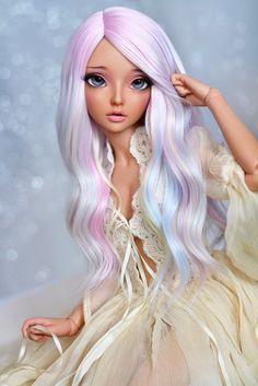 my muse♥ (4arllin) Tags: bjd minifee mnf celine doll alpaca wig fairyland tan 4arllin