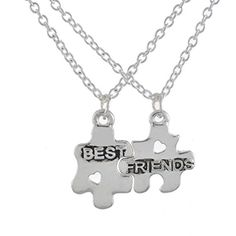 MJartoria Embossed Letter Best Friends Hollow Heart Puzzle Pendant Friendship Necklace Set of 2 MJartoria http://www.amazon.com/dp/B00YMLVYL2/ref=cm_sw_r_pi_dp_SUwCvb1Q00VRR