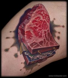 Meatcase/Briefsteak by Nick Baxter