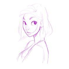 Sketch, girl.WIP :)
