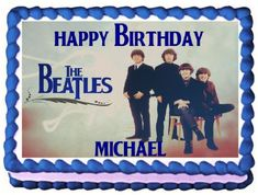 The Beatles Edible Frosting Sheet Cake Topper  14 Sheet * To view further for this item, visit the image link.(This is an Amazon affiliate link and I receive a commission for the sales)