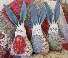 Easter Bunnies https://www.facebook.com/BeeyoutifullyHomemadeCrafts, its on my list!!