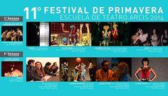 Festival de primavera 2014- Arcis- Ganadora Premio Mejor Actriz