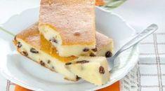 Cottage cheese casserole with raisins Czech Recipes, Russian Recipes, Apple Recipes, Baking Recipes, Fun Desserts, Dessert Recipes, Tostadas, Cupcake Cakes, Breakfast Recipes