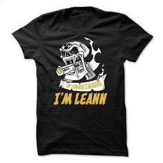 Of Course Im Right IM LEANN - custom sweatshirts #funny t shirts for men #t shirt company