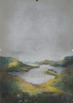 "Original Soft Pastel Painting ""Lake"" Landscape Ar from HEARTartROOM by DaWanda.com"