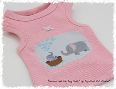 Mommy and Me Dog Shirt   XSS.. Dog Dress Pet Clothes Pet