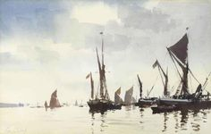 Edward Seago (Edward Brian (Ted) Seago) Watercolor .. Discussion LiveInternet - Russian Service Online Diaries