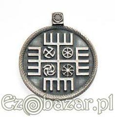 Ręce Boga. Posrebrzany talizman. Serbia • Ezobazar Symbols, Glyphs, Icons