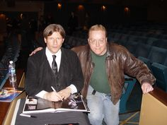 A.J. Leatherman and Crispin Glover