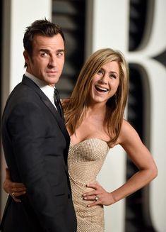 Jennifer Aniston Photos - Stars at the Vanity Fair Oscar Party - Zimbio