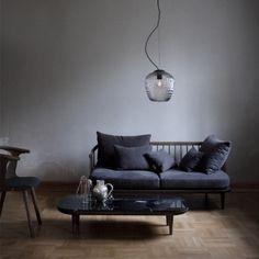 &Tradition Lampada Blown SW3, argento | Lampade a sospensione | Illuminazione | Finnish Design Shop