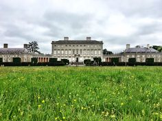 Stately Castletown House in Ireland