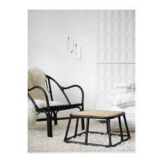 NIPPRIG 2015 Lepotuoli - musta - IKEA