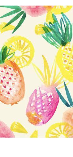 Summer Wallpaper, Pineapple, Fruit, Pine Apple