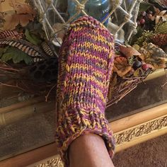 I see so many projects on Ravelry where the knitter has used my Crocodilly Mocs pattern and changed it up a bit with a ribbed cuff instead of the crocodile stitch. I'd thought I'd go ahead and write it up as a pattern for those not interested in a croc stitch cuff.