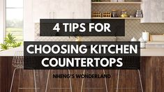 4 Tips For Choosing Kitchen Countertops Twin Boys, Diy Crochet, Kitchen Countertops, Wonderland, About Me Blog, Tips, Home Decor, Toddler Twins, Decoration Home
