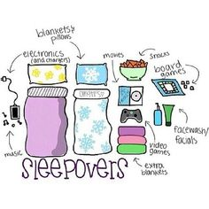 Perfect sleepover for teens;) #yuppers