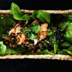 Lohi-mangoldivokki - Reseptit – Kotiliesi