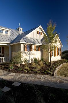 texas hill country style home