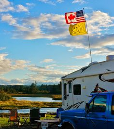 Happy Independence Day! from your northern cousin. I'm flying a bit of the old stars & stripes in your honor this weekend. Cheers! #LoveYourRV