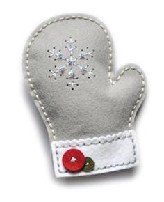 Memory Box - Craft Die - Plush Frosty Mitten