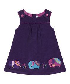 Mulberry Elephant Corduroy Jumper - Infant, Toddler & Girls