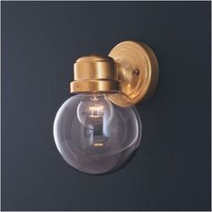 Thomas Lighting - SL9256-12 - Globe Wall Sconce in Antique Brass $15.17