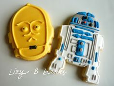 To go with Steven's Star Wars party theme...