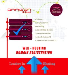 Dragonhispeed offers reliable hosting solutions such as reseller hosting, web hosting, email hosting and VPS. Established in 2008 and data centers located in Thailand. In their datacenter`s company includes latest tools and technologies including HP, ASUS, and Dell that delivers efficient hosting services with 24/7 technical support. Dragonhispeed uses direct admin and user-friendly control panel