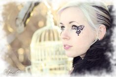 Butterfly Makeup ∙ How To by Mi.ezekatze on Cut Out + Keep