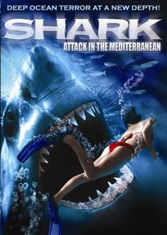 Shark Attack In The Mediterranean Movie Online. Devastated by the violent death of his wife, helicopter pilot Sven Hanson (Ralph Moeller, Gladiator, Scorpion King) helplessly watches as his personal life and business unravel. He finds . Great Movies To Watch, All Movies, Horror Movies, Movies Online, Action Movie Poster, Movie Posters, Goth Wallpaper, Jaws Movie, Fantasy Movies