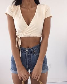 best of simple and comfy casual summer outfits 27 Casual Summer Outfits, Short Outfits, Spring Outfits, Trendy Outfits, Cute Outfits, 50 Fashion, Fashion Outfits, Inspiration Mode, Couture