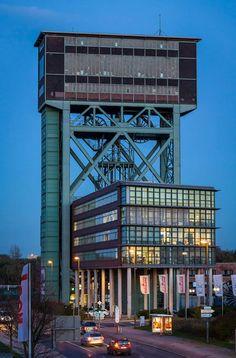Hammerkopfturm Eving, ehemalige Zeche Minister Stein  #Dortmund #Eving