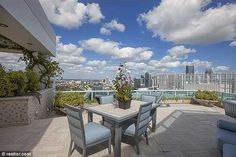 Hello, Miami! Pharrell has spoken above feeling on top of the world from his high-rise home
