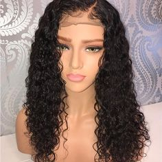 Hair Extensions & Wigs Official Website Sylvia Long Straight Soft Synthetic Lace Front Wig Drill Blue Ombre Baby Blue Cosplay Wig Natural Hairline Handmade For Women Synthetic None-lacewigs