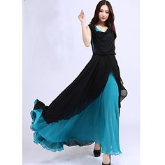 Sherry Women's Casual Sleeveless Dresses (Chiffon) – USD $ 16.99