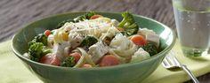 Garden Ranch Linguine with Chicken Recipe | Hidden Valley®