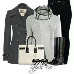 Black & Grey...I love it!