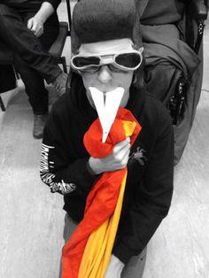 It's Elvis.... the fire breathing rat.