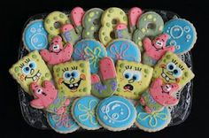 Cookies with Character: SpongeBob Birthday!