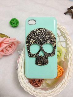 Skulls & Floral case