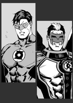 axiom-lanterns Hal and Kyle