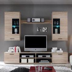Ensemble de meubles TV Borna I I (4 éléments)
